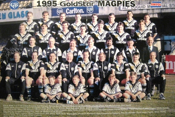 Wests Magpies Team – 1995 Wests Magpies Poster | 12594