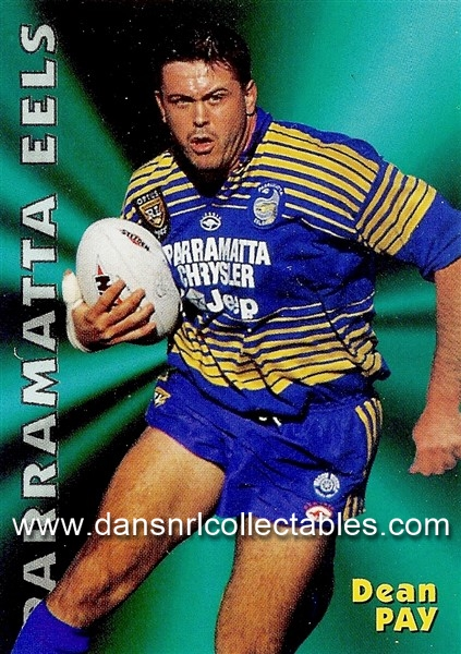 e85ee326ab6c 1997 Fattys Footy Fun Rugby League Card