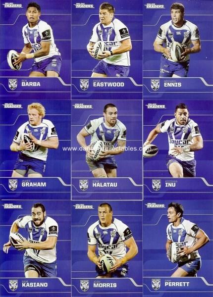 2013 NRL Traders COWBOYS Parallel Team Set