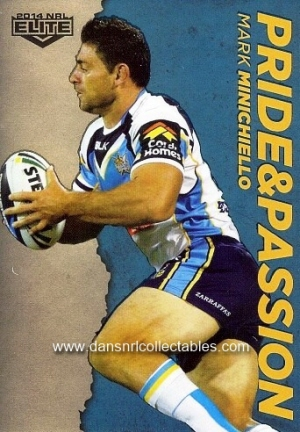 Ashley HARRISON Titans 2014 NRL Traders Black Parallel Special PS49
